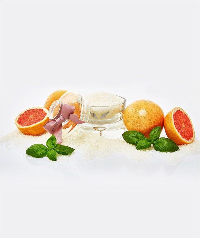 Grapefruit & Basil Bath Salt 2