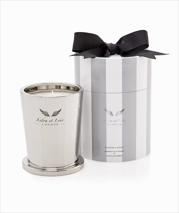 Moroccan Wood & Fine leather Signature Candle