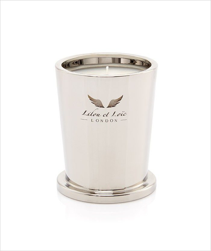 Moroccan Wood & Fine leather Signature Candle 2