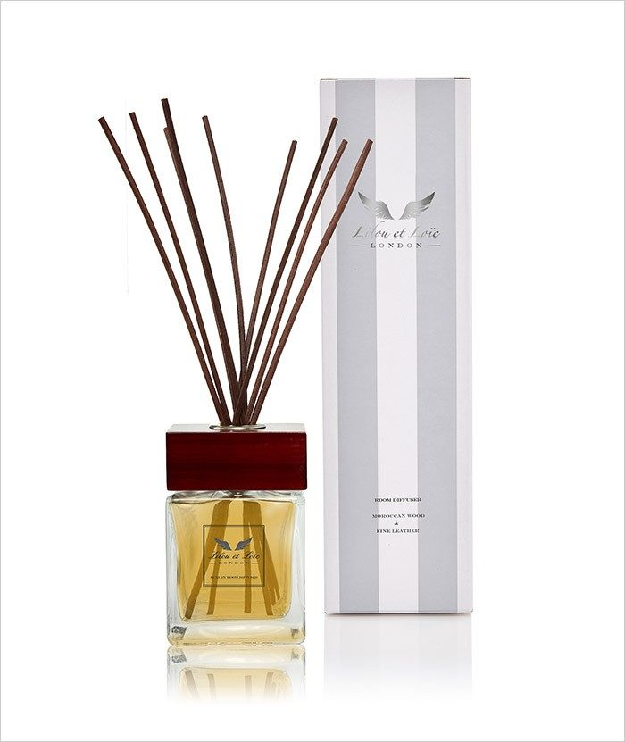 Moroccan Wood & Fine leather Room Diffuser