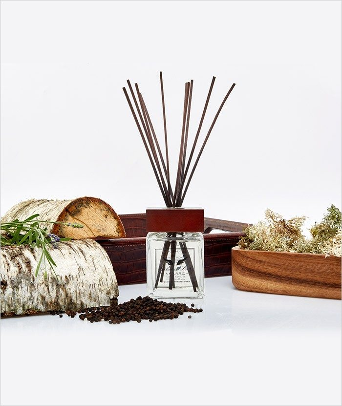 Moroccan Wood & Fine leather Room Diffuser 2