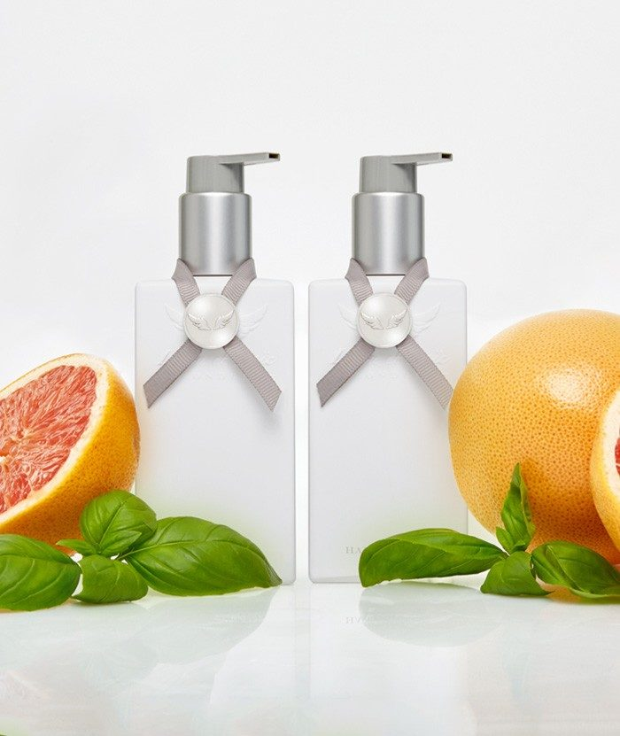 Grapefruit & Basil Hand Wash & Hand Lotion set