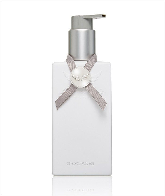 White cashmere Hand Wash