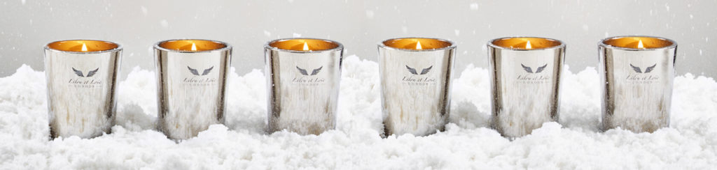 luxury scented candles winter collection